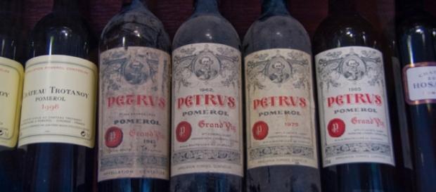 Château Petrus, quand les bouteilles sont en faite de la piquette