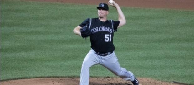 Jake McGee will enter free agency after spending the past two seasons with the Rockies. Image Source: Flickr | Keith Allison