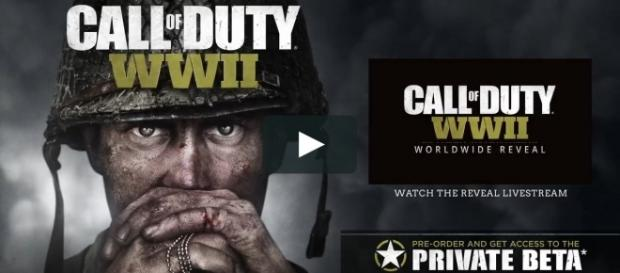 Official Call of Duty®- WWII Reveal Trailer [Image Credit: The Hut Group/Vimeo]