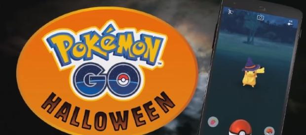 The game's Halloween Event features Ghost-type creatures, such as Ghastly, Gengar, and Cubone. [Image Credit: GameXplain/YouTube]