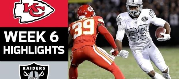 The Raiders stun the Chiefs - NFL/YouTube