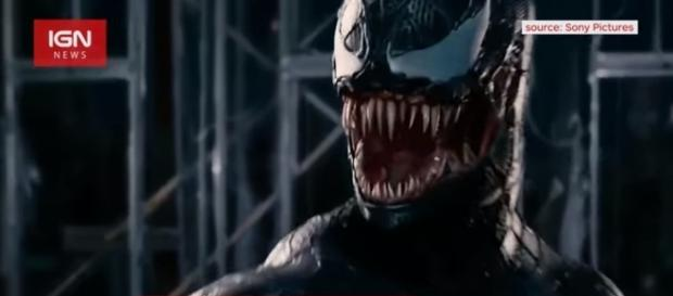 Venom: Sony Sets Release Date for Spider-Man Spinoff Movie - [Image Credit: Image via IGN News/YouTube]