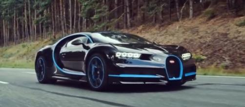 4 of the fastest cars in the world. [Image Credit:Bugatti/YouTube]
