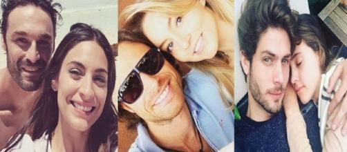 Atores se conheceram nos melodramas e se apaixonaram na vida real (Fotos: Instagram)