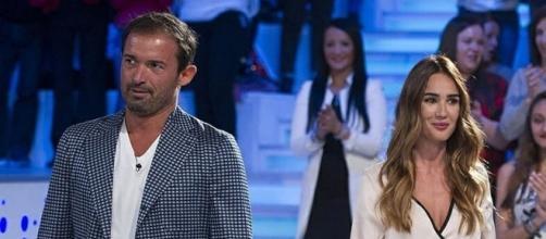 Gianluca Impastato con Silvia Toffanin