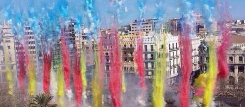 La Mascletà de las Fallas de Valencia