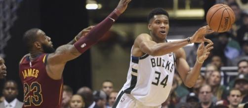 LeBron has high praise for Giannis - (Image: YouTube/NBA)