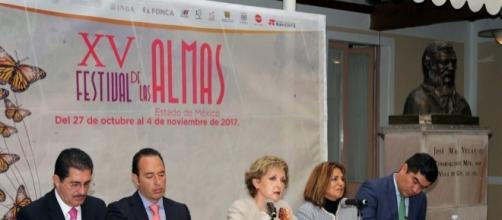 Mon Laferte, Celso Piña y Francisco Céspedes en el Festival de Las Almas. - imperioinformativo.mx
