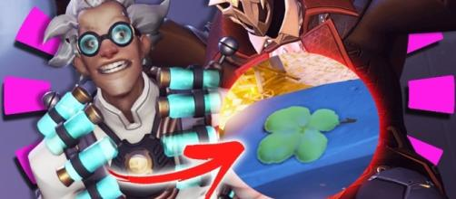 'Overwatch' Halloween Easter eggs you might have missed.[Image Credit: ohnickel/YouTube]