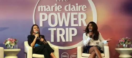 Priyanka Chopra in 'The Marie Claire Power Trip' [Image via: Priyanka Network/YouTube]