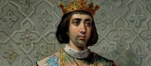 Retrato de Enrique IV de Castilla.
