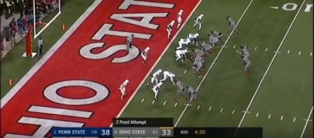 College football playoff : (Image Credit: The Highlight Zone/YouTube Screencap)