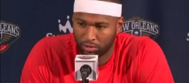 DeMarcus Cousins plans to meet with NBA regarding fans' conduct towards players. [Image Credit: NBA Center/YouTube]
