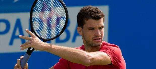 Grigor Dimitrov disposed of sixth seed Fabio Fognini in straight sets (Image Credit: David Iliff/WikiCommons)