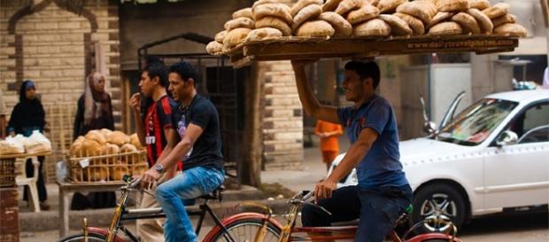 Il trasporto quotidiano del pane