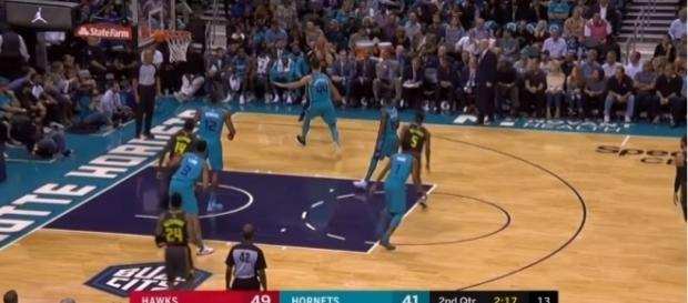 #AtlantaHawks #CharlotteHornets; (Image Credit: Smash NBA/YouTube)