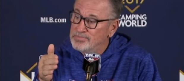 Joe Maddon could bring in former Rays pitching coach Jim Hickey as replacement. [Image Credit: MLB/YouTube]