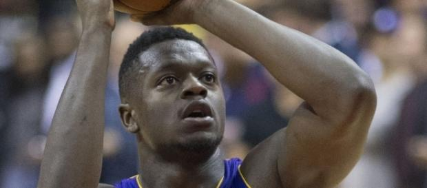 Julius Randle is frustrated with his new role, which could lead to a split later this season. [Image via Keith Allison/Flickr]