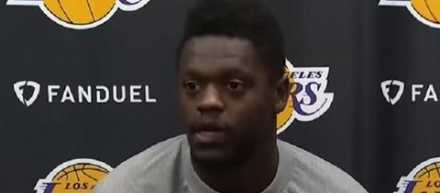 Julius Randle scored eight points in 13 minutes of play vs Suns (Image Credit: Justin LA Lakers 2/YouTube)