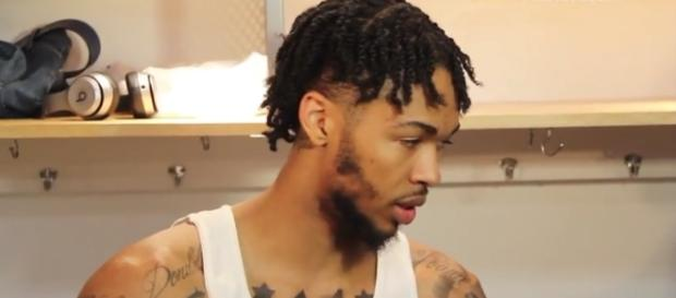Los Angeles Lakers forward Brandon Ingram. Image Credit: @LakersNation -- YouTube Screenshot