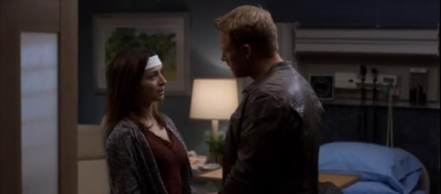 "Owen asks Amelia to come home with him in ""Grey's Anatomy"" season 14 episode 4.[Image Credit: Grey's Anatomy - GreySloan/Youtube]"