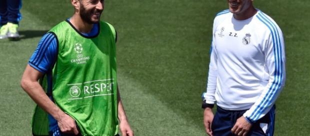 """Real Madrid: Benzema, """"le meilleur joueur français"""" selon Zidane ... - leparisien.fr"""