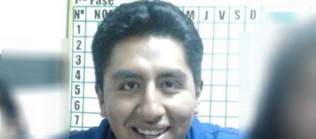 Enfermeiro Grover Macuchapi Calle transa com cadáver (Foto: Reprodução/Facebook)