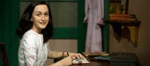A garota Anne Frank que escreveu sobre a ameaça nazista e a guerra
