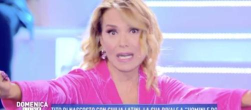 Barbara D'Urso asflata Cristina Parodi