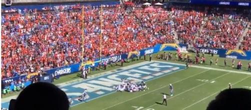 Broncos orange taking over Los Angeles - image - FTW Sports News/Youtube