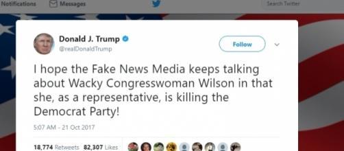 Donald Trump continues hateful tweets. Twiiter.com.
