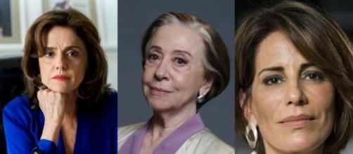 Entre as atrizes principais, estão Marieta Severo e Glória Pires.