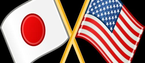 Japan and USA flags by Japan by Vinicius Depizzol; US by User:DzWiki; modified by user:akaniji/Wikimedia Commons