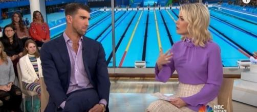 Michael Phelps and Megyn Kelly, Image Credit: TODAY / YouTube