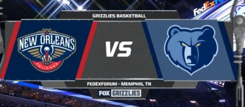 New Orleans Pelicans lose to Memphis Grizzlies. [Image Credit: NBA Conference/Youtube]