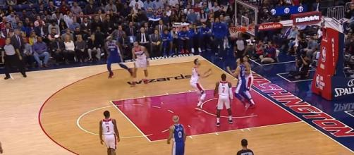 Philadelphia 76ers @ Washington Wizards via NBA Recap youtube channel