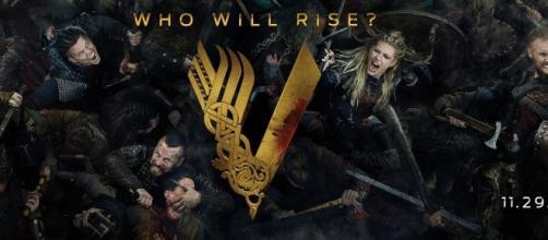 Poster da 5ª temporada de ''Vikings''