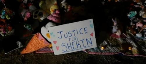 Vigil for Sherin Mathews. (Image from The Dallas Morning News/YouTube)