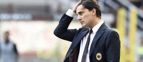 Vincenzo Montella non sa come raddrizzare il Milan