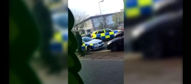 A man with a sawn-off shotgun held 2 staff members hostage at a UK bowling alley [Image credit: ciobanu fabian/YouTube]