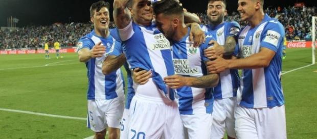 El Leganes sorprende al Athletic con un gran gol.