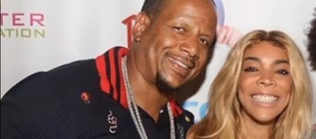 Kevin Hunter and Wendy Williams, husband and wife [Image: Jada Stackhouse/YouTube screenshot]