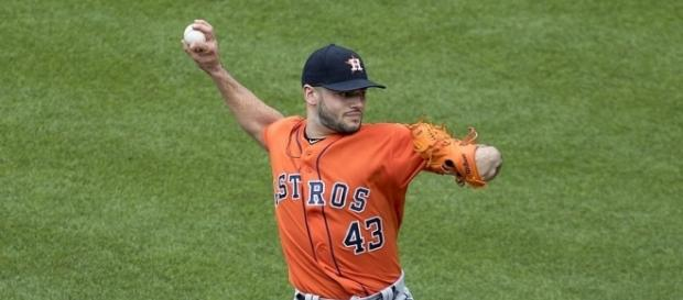 Lance McCullers - Keith Allison via Wikimedia Commons