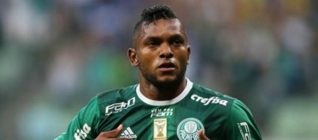Miguel Borja marco gol contra a Ponte Preta