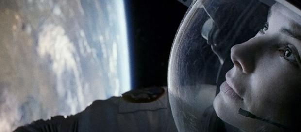 Screen cap from the film Gravity