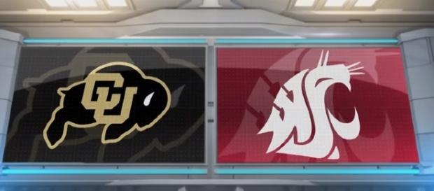 Washington State played Colorado in Pac-12 action on October 21. -- YouTube screen capture / Pac-12 Network