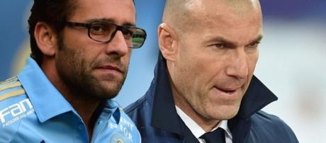 Técnicos do Palmeiras e Real Madrid
