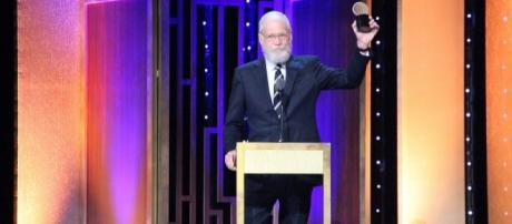 The Mark Twain award for 2017 is now among David Letterman's accolades. [Credit: Peabody Awards/Flickr]