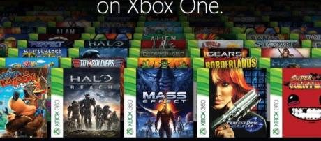 Xbox One X now features backwards compatibility titles. (Image Credit - BagoGames/Flickr)