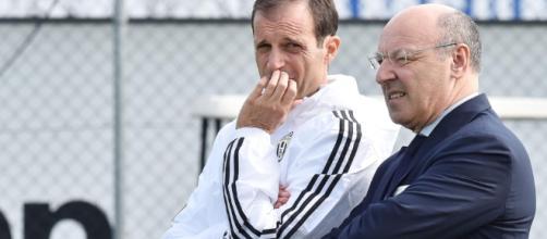 Fabinho e la Juventus con Marotta